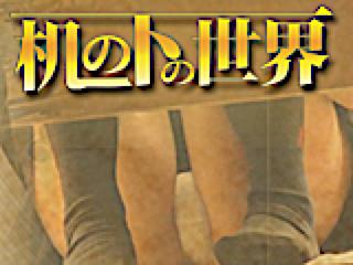 ヤリマンのオマンコ:机の下の世界:マンコ無毛