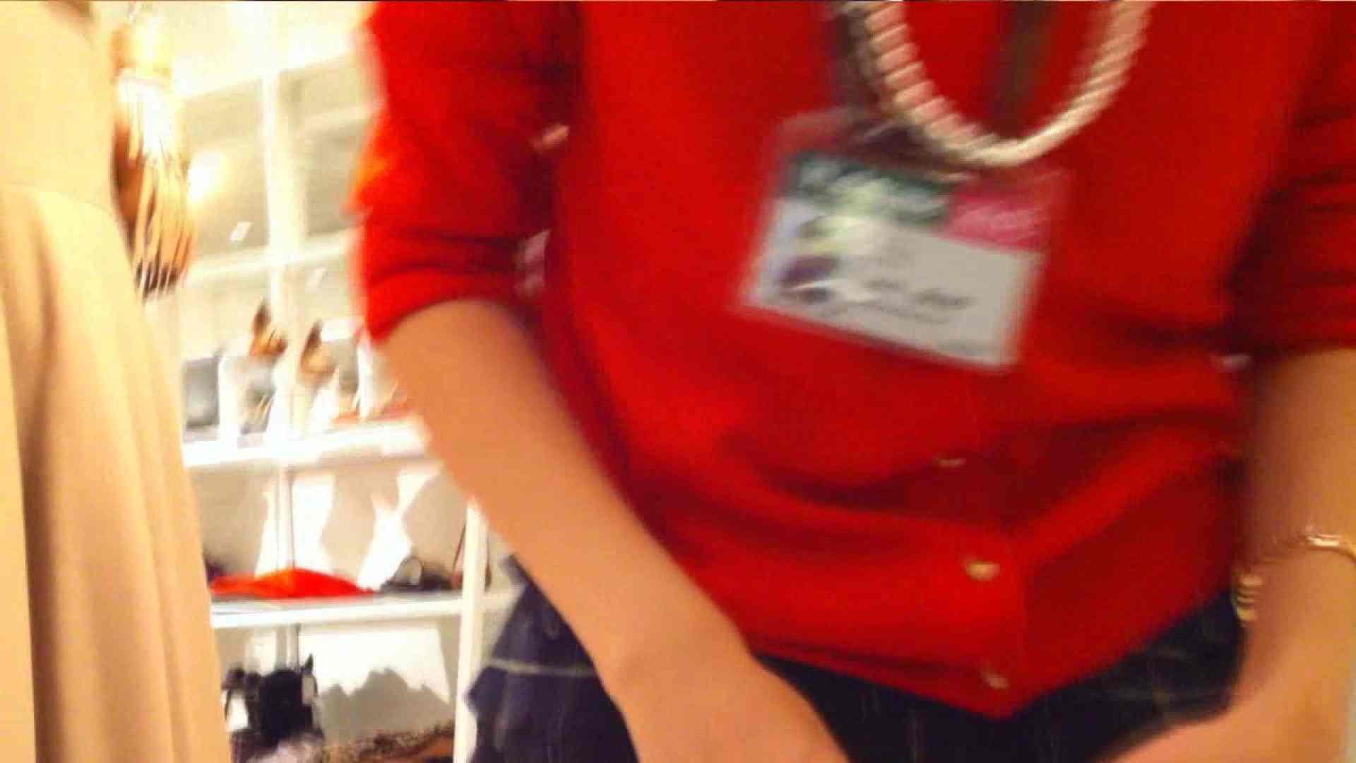 ヤリマンのオマンコ:vol.36 美人アパレル胸チラ&パンチラ ポニテ(゚∀゚)キタコレ!!:のぞき本舗 中村屋