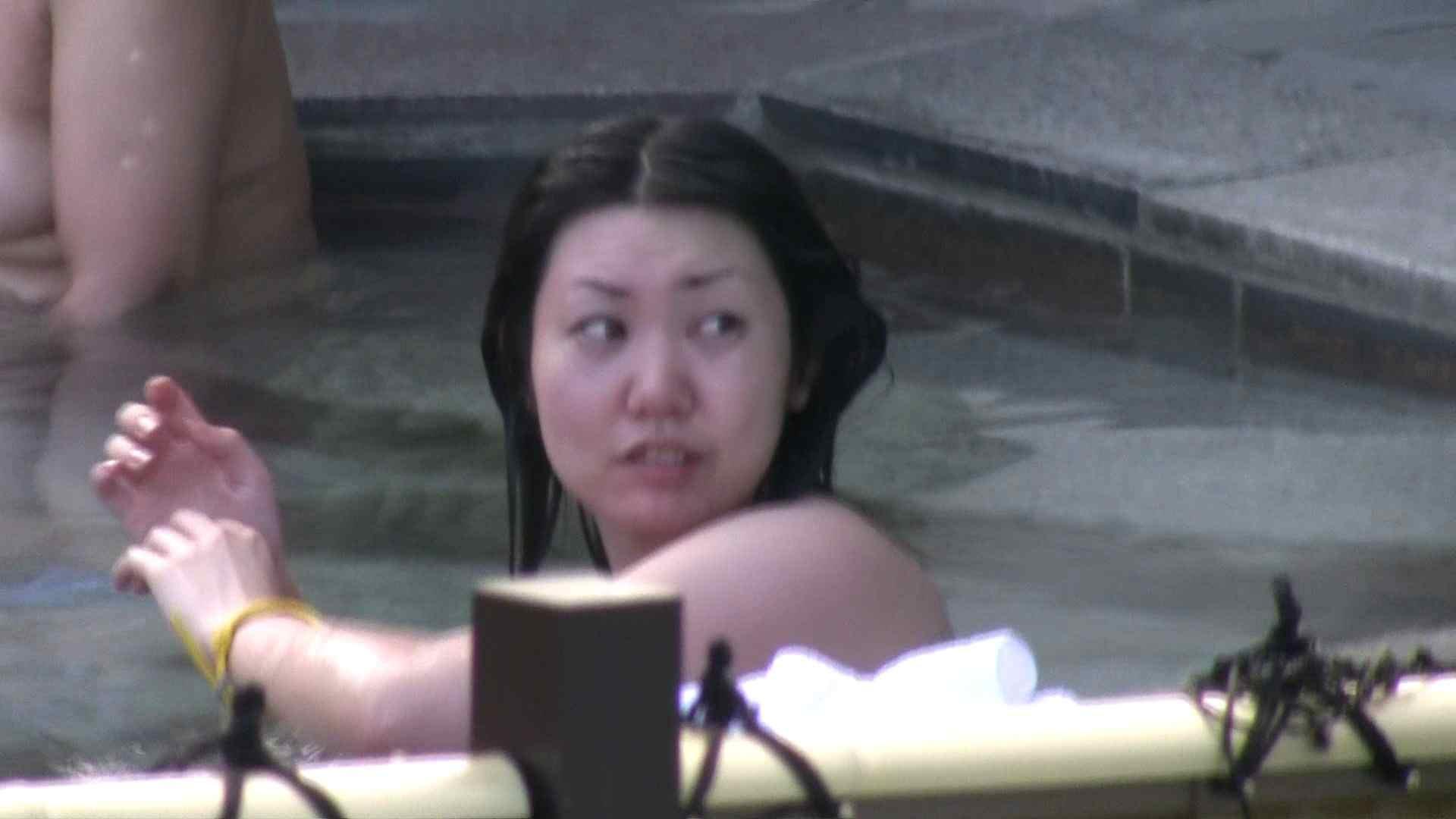 ヤリマンのオマンコ:Aquaな露天風呂Vol.117:のぞき本舗 中村屋