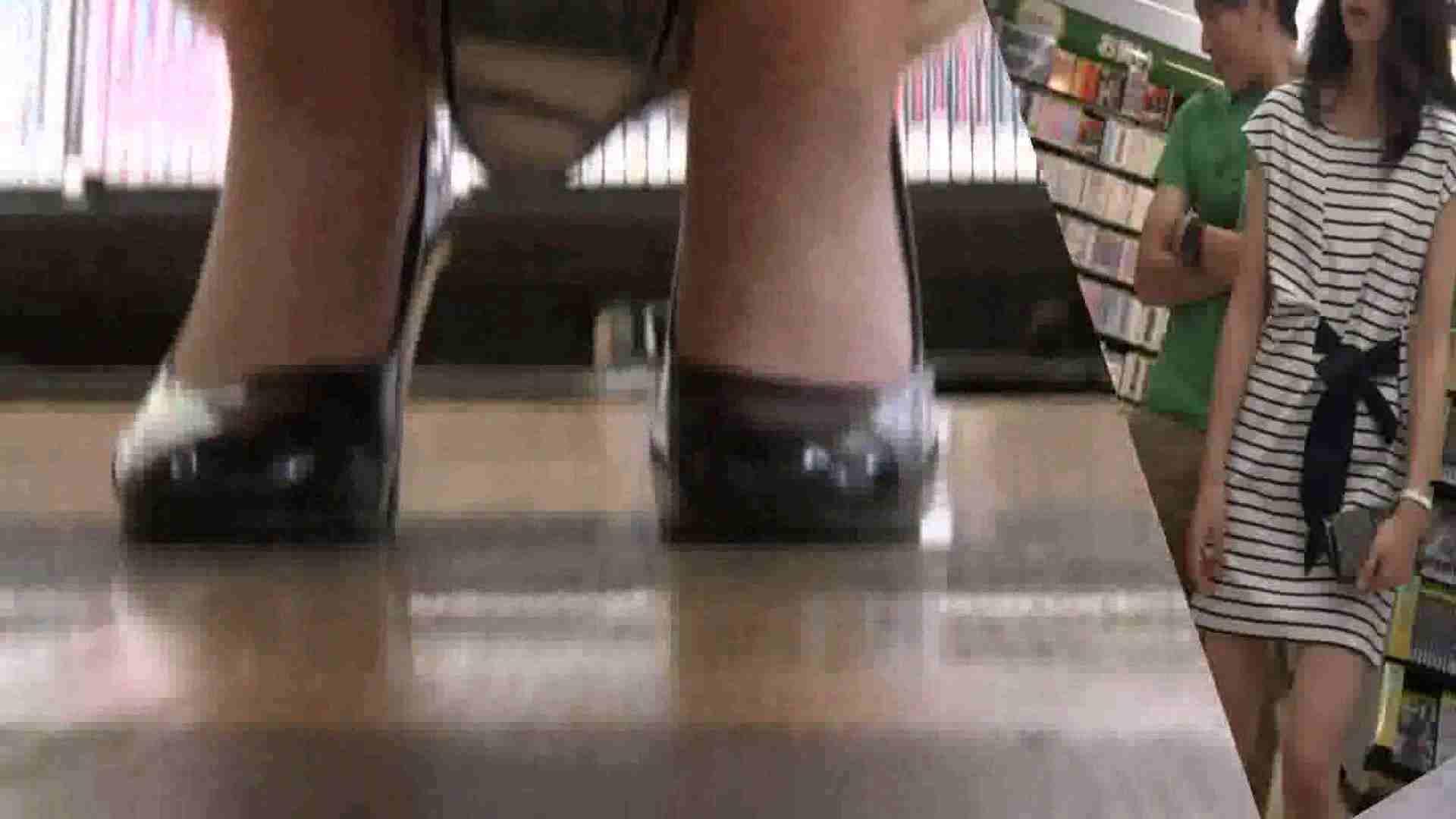 真剣に買い物中のgal達を上から下から狙います。vol.01 チラ系 | JK  79pic 64
